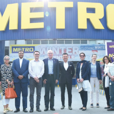 Bavarian Business Delegation to Pakistan, October 2018: The delegation visiting Metro by invitation of Pervaiz Akhtar, Director Corporate Affairs, Metro-Habib