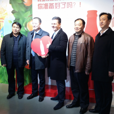 Business Journey to China, March 2015: Consul Dr. Poetis visit to Coca Cola in Gaocheng Industry Park