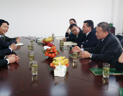 Business Journey to China, March 2015: Consul Dr. Poetis meeting with Mr. Zhan Zhongnong Pi´s representatives in Xuancheng and discussing possibilitiers of developments of markets in Chinese provinces.
